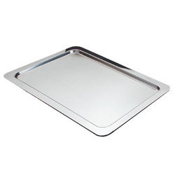 Stainless Steel Buffet Tray, Shape: Rectangle