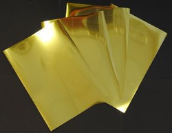 Stainless Steel Gold Sheet