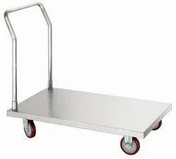 Stainless Steel Material Handling Trolley 2feet x 3feet