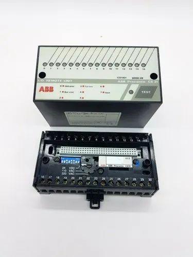 módulo vigas Abb procontic cs31 ICSI 08e1 i//0 Remote Unit 24 VDC