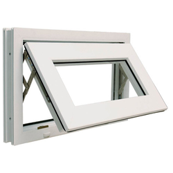 Top Open UPVC Ventilator