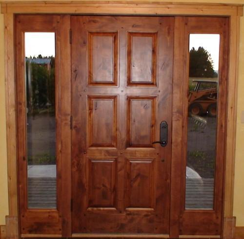 Hinged Exterior Solid Wood Door At Rs 650 Square Feet Exterior