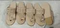 Genuine Leather Natural Kolhapuri Chappal