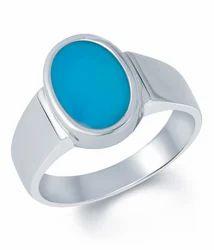 Natural Firoza Turquoise Gemstone Ring