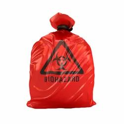 Non Chlorinated Hospital Garbage Bag for Bio-Hazardous waste
