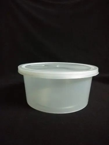 300ml Disposable Transparent Food Container