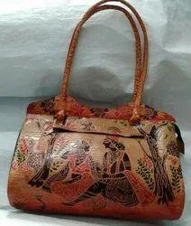 Bi Women Leather Shanti Print Bag model Amrakuti