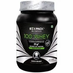 Six Pack Nutrition 100% Whey Protein, Pack size : 2 kg