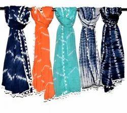Tie Dye Ladies Cotton Kantha Scarves