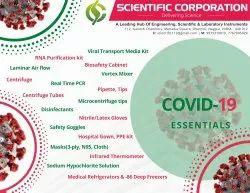 COVID Lab Setup
