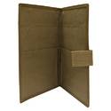 Jute File Folder With Bamboo Works