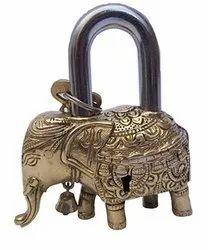 Brass Elephant Lock / Brass Lock