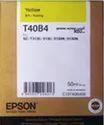 Ink Cartridge Epson T3130- Yellow Original Cart T40b4, For T3130 Inkjet Printer Cartridge, Size: 50ml
