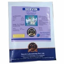 Fermenta Feed Based Sebvin Vitamin E, Biotin and Organic Selenium, Immunity, Packaging Type: Mettalic Pouch
