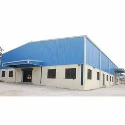 GI PEB Industrial Shed