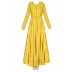 Ladies Yellow Gown