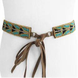Hand Beaded Belts
