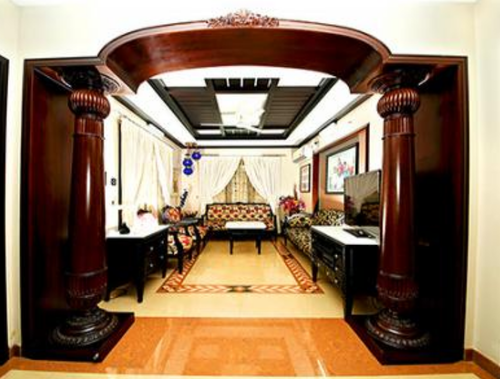 Traditional Interiors Design Services In Vennala Kochi Brightech Interiors And Exteriors Private Limited Id 15537369297