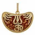 Rudraksha Om Pendant
