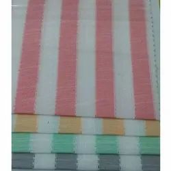 58 Inch Striped Cotton Fabric, for Bedsheet, GSM: 120