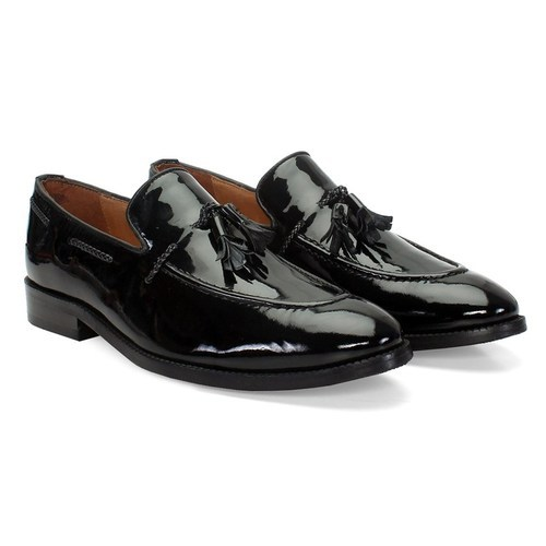 f2a17248c Brune Formal Black Patent Leather Lacing Tassel Loafers Shoes, Rs ...