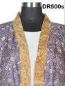Vintage Recycled Saris Short Kimono Dressing Robes Gowns Bridesmaids Dr500s