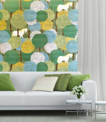 Vertical Korean Wallpaper, Size: 57 Sft