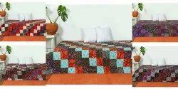 Kantha Handmade Indian Patchwork Cotton Quilt Bedspread