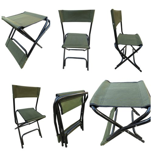 Tremendous Folding Compact Portable Outdoor Camping Chair Cum Stool Cjindustries Chair Design For Home Cjindustriesco