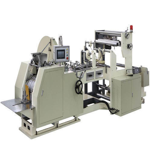 Automatic Paper Carry Bag Making Machine, Voltage: 240 V