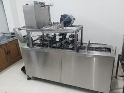 Curd Cup Filling and Foil Sealing Machine