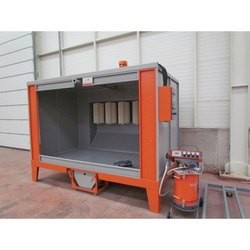 Steel Electrostatic Powder Coating Booth, Automation Grade: Automatic, Electric