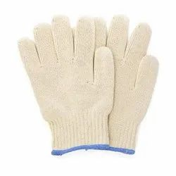 Full Finger Cotton Canvas Glove, Length: 1-5 Inches