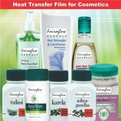 Cosmetics Heat Transfer Labels