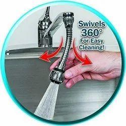 Stainless Steel Turbo Flex 360 Sink Faucet Extension Part Sprayer Jet Stream or Spray