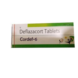 Deflazacort Tablet, 10 X 10 Tablets, Packaging Type: Box