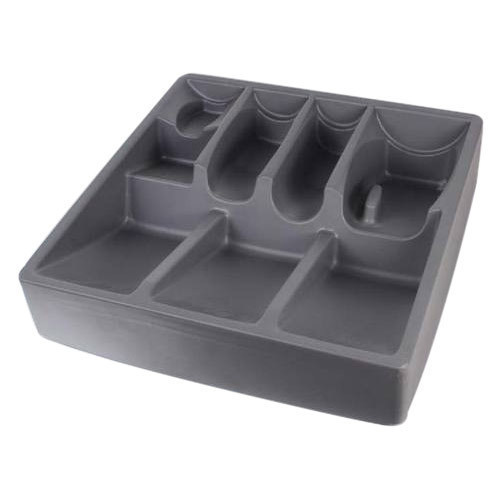 Grey Vacuum Formed Packing Tray