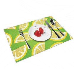 Printed Table Placemats