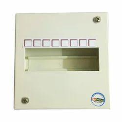 Mild Steel 8 Way Krimco Single Door MCB Box for Electric Fittings