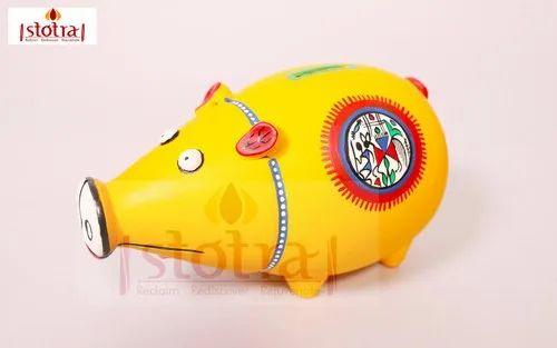 Handcrafted Terracotta Piggy Bank