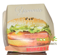 Eco Friendly Burger Packaging Boxes