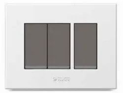 Polycab Caprina Series White Switch Plate