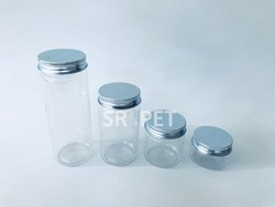 Pet Jar with Aluminum Cap