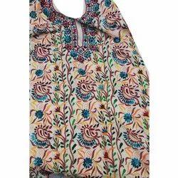 Cotton 44-45 Ladies Punjabi Dress Material, Handwash