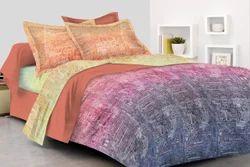 棉数字印花床单2枕套