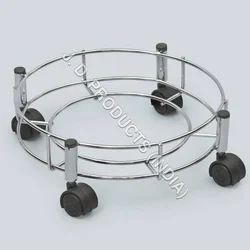 SS Gas Cylinder Trolley