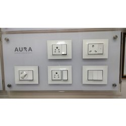Vinay Aura Modular Range Electrical Switches