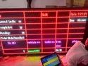 LED Industrial Production Data Display