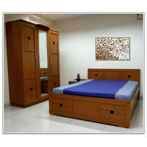Modern Wooden Bedroom Set at Rs 85000 /set | Goregaon West | Mumbai ...