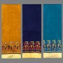 Kalamkari Manipuri / Lilen Chanderi Silk Printed Saree